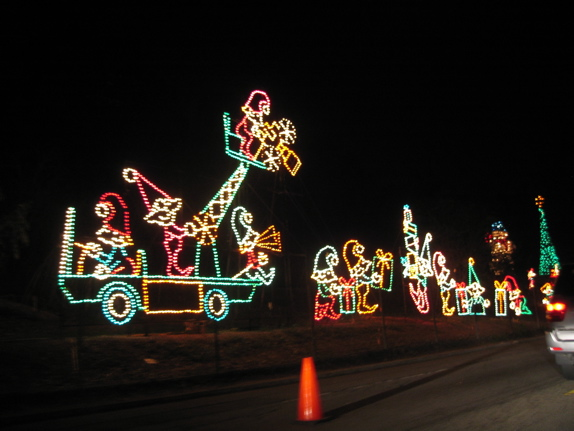 Griffith Park Christmas Lights