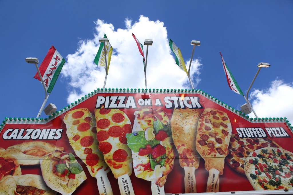 Two Pizzas On A Stick And A Single Soda Only Cost 17